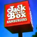 Jack in the Box Sign 1976